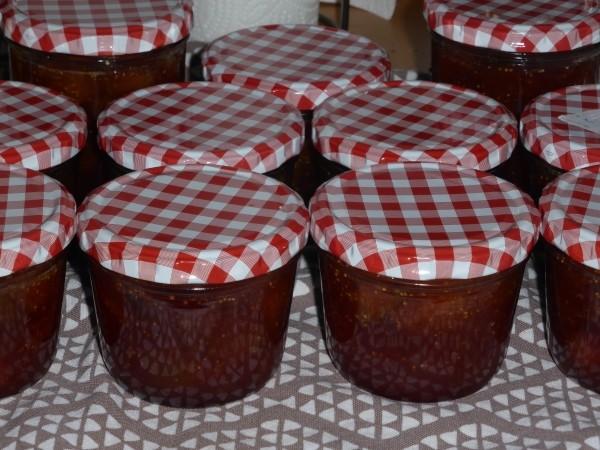 Marmelade einkochen wie hier die Feigen Marmelade: Ei nRezept