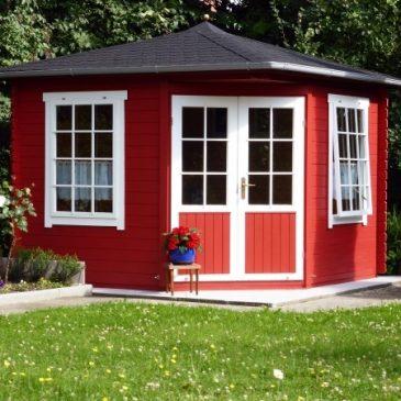 Das Gartenhaus: Mehr als nur ein Abstellraum & Gewinnspiel