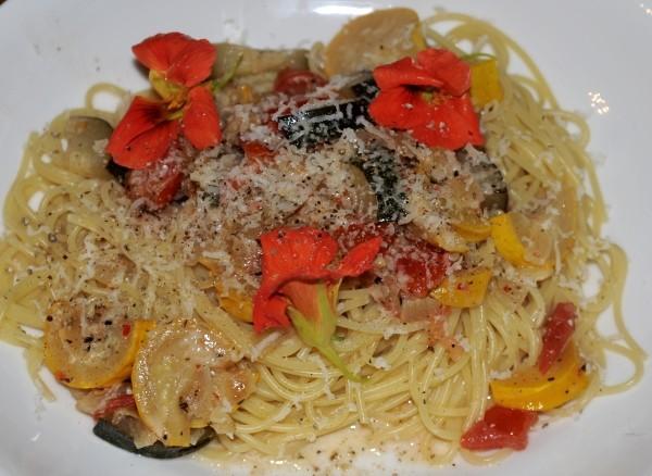 Zuchini Rezept mit Chili zu Pasta