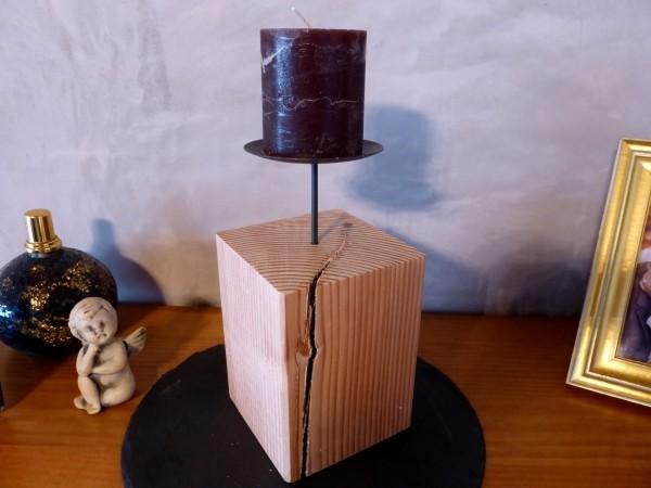 Kerzenständer Holz Anleitung ~ Kerzenständer oder Adventskranz aus Holz selber bauen