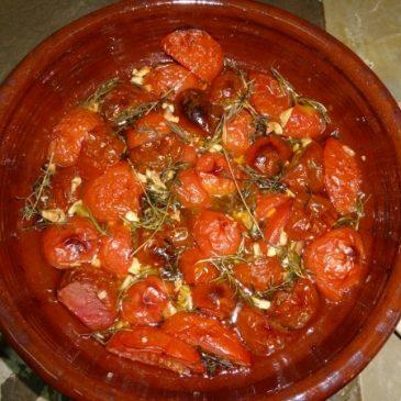 Tomaten aus dem Backofen: Himmlisch-einfacher Genuss pur oder als Beilage