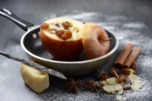 Bratapfel Rezept schnell und lecker aus der Pfanne!