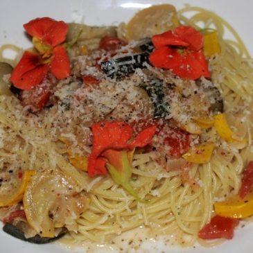 Rassiges Pasta-Zucchini-Rezept, schnell gezaubert