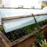 Hochbeet bauen: Anleitung für ein Dach