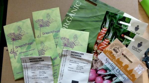 Samen online kaufen und Bio Saatgut