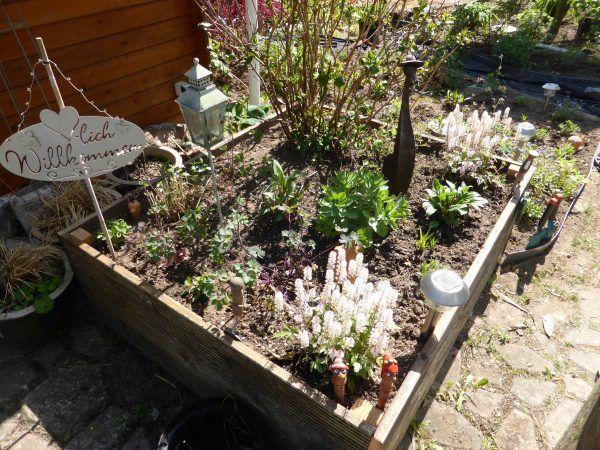 Neu oder Upcycling trifft DIY: Terrassen-Hochbeet bauen