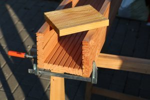 Pflanztreppe selber bauen für Vertical Gardening