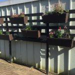 Vertical Gardening mit Paletten