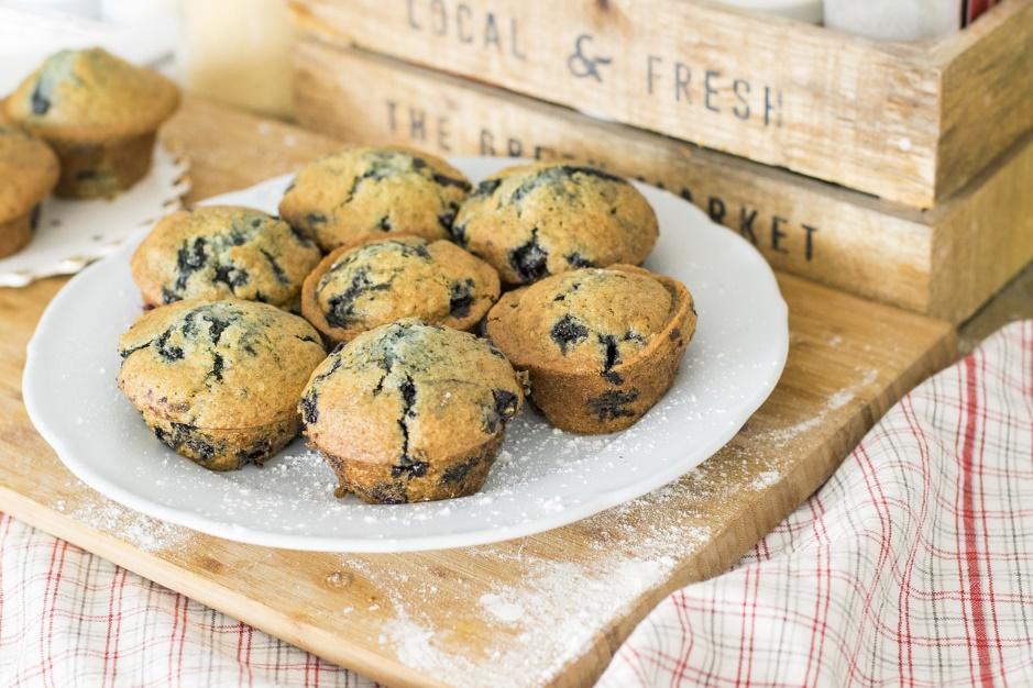 Rezept für Heidelbeer Muffins
