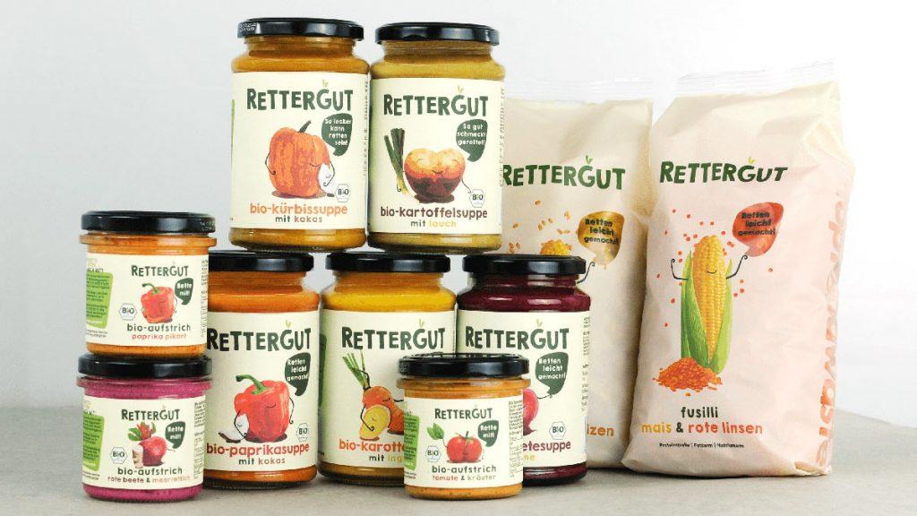 Rettergut produziert Suppen, Pesto oder Brotaufstriche aus Lebensmittel, die zu Müll geworden wären