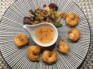 Rezept Asiasauce süß sauer als Dip zur Vorspeise